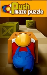 Push Maze Puzzle Android Mobile Phone Game
