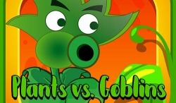 Plants Vs Goblins Android Mobile Phone Game