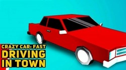 Crazy Car: Fast Driving In Town Android Mobile Phone Game