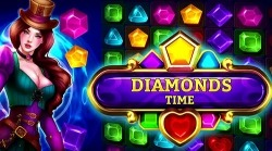 Diamonds Time: Mystery Story Match 3 Game Android Mobile Phone Game