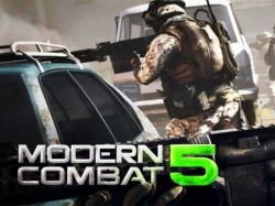 Modern Combat 5: Blackout Android Mobile Phone Game