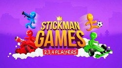 Download Free Android Game Stickman Party: 2 Player Games