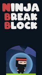 Ninja Break Block Android Mobile Phone Game