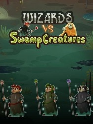 Wizard Vs Swamp Creatures Android Mobile Phone Game