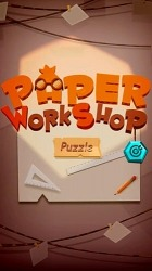 Paper Puzzle Workshop Android Mobile Phone Game