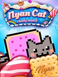 Nyan Cat: Candy Match Android Mobile Phone Game