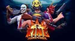 King Hardcore: Battle Royale Shooter Android Mobile Phone Game