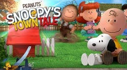 Peanuts. Snoopy's Town Tale: City Building Simulator Android Mobile Phone Game