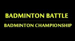 Badminton Battle: Badminton Championship