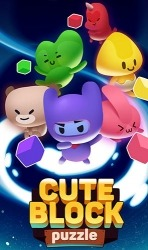 Cute Block Puzzle Buddies Android Mobile Phone Game