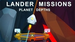 Lander Missions: Planet Depths Android Mobile Phone Game