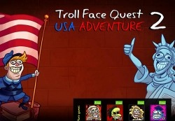 Troll Face Quest: USA Adventure 2 Android Mobile Phone Game
