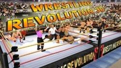 Wrestling Revolution 3D Android Mobile Phone Game