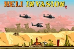 Heli Invasion 2: Stop Helicopter With Rocket