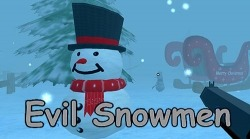 Evil Snowmen Android Mobile Phone Game