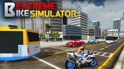 Extreme Bike Simulator Android Mobile Phone Game