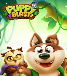 Puppy Blast: Journey Of Crush Android Mobile Phone Game