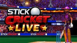 Stick Cricket Live Android Mobile Phone Game