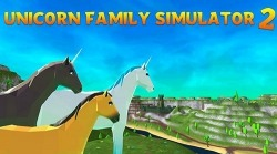 Unicorn Family Simulator 2: Magic Horse Adventure Android Mobile Phone Game