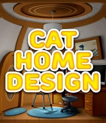 Cat Home Design: Decorate Cute Magic Kitty Mansion Android Mobile Phone Game