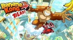 Banana Kong Blast Android Mobile Phone Game