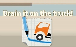 Brain It On The Truck Android Mobile Phone Game