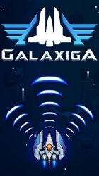 Galaxiga: Classic 80s Arcade Space Shooter Android Mobile Phone Game