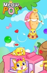 Meow Pop: Kitty Bubble Puzzle Android Mobile Phone Game