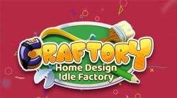 Craftory: Idle Factory And Home Design Android Mobile Phone Game