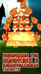 Knockdown The Pumpkins 2 Android Mobile Phone Game