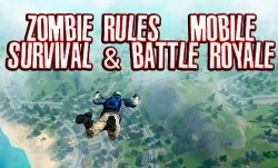 Zombie Rules: Mobile Survival And Battle Royale Android Mobile Phone Game