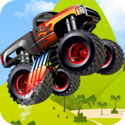 Monster Truck Hero Android Mobile Phone Game