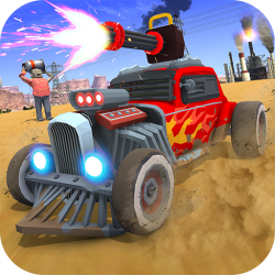 Zombie Squad: Crash Racing Pickup Android Mobile Phone Game