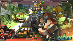 Zombie Attack: Last Fortress Android Mobile Phone Game