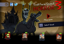 Troll Face Quest: Horror 3 Android Mobile Phone Game