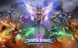 Crystalborne: Heroes Of Fate Android Mobile Phone Game
