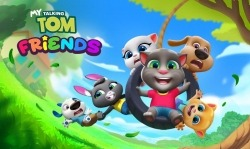 My Talking Tom Friends Android Mobile Phone Game