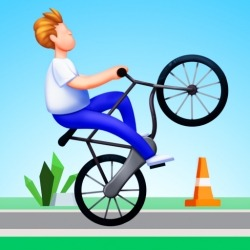 Bike Hop: Be A Crazy BMX Rider! Android Mobile Phone Game