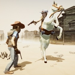 Outlaw! Wild West Cowboy - Western Adventure Android Mobile Phone Game