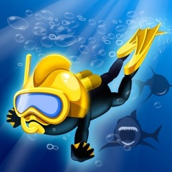 Crazy Diver Android Mobile Phone Game