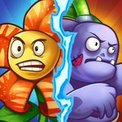 Zombie Defense - Plants War - Merge Idle Games