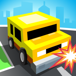 Circle Crash - Blocky Highway