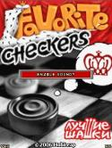 Favorite Checkers Java Mobile Phone Game