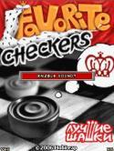 Favorite Checkers Java Mobile Phone Game