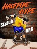 Halfpipe Hype Game for Java Mobile Phone