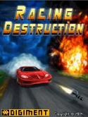 Racing Destruction Game for Java Mobile Phone