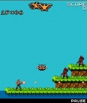 Contra Game for Java Mobile Phone