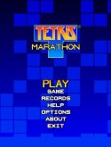 Tetris Game for Java Mobile Phone