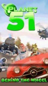 Zed Planet 51 Behind The Wheel Java Mobile Phone Game