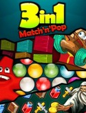 3 in 1 Match'n'Pop Java Mobile Phone Game